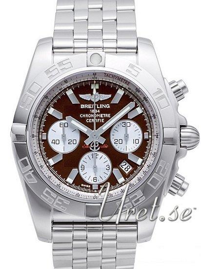 Breitling Chronomat 44 Herrklocka AB011012-Q575-375A Brun/Stål Ø43.5 mm - Breitling