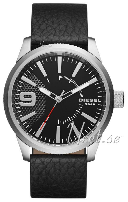 Diesel 99999 Herrklocka DZ1766 Svart/Läder Ø46 mm - Diesel
