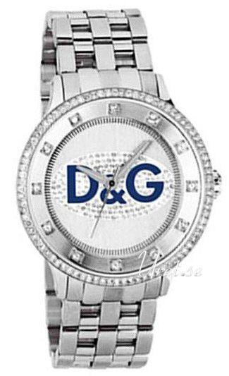 Dolce & Gabbana D&G Prime Time DW0133 Silverfärgad/Stål Ø45 mm - Dolce & Gabbana D&G