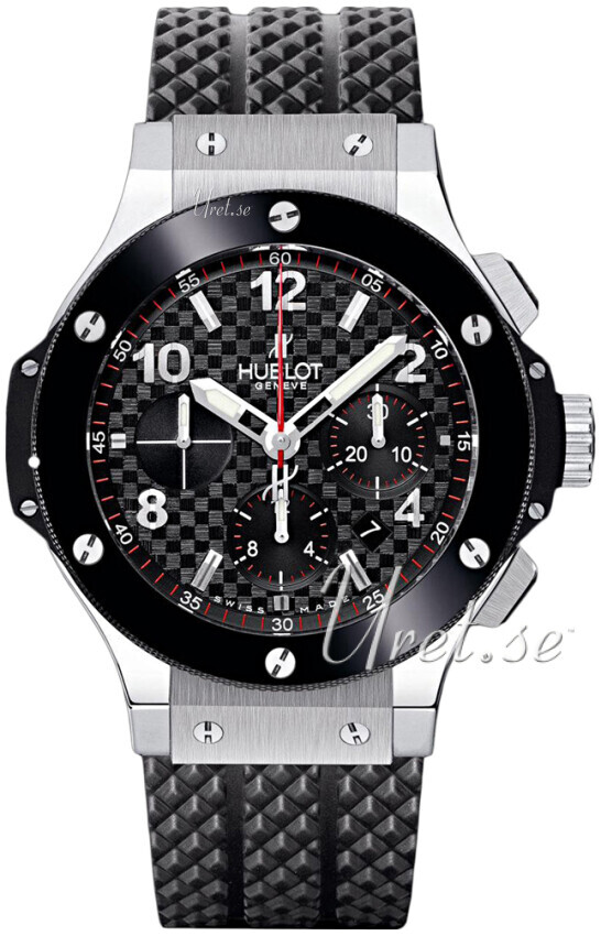 Hublot Big Bang Evolution Herrklocka 301.SB.131.RX Svart/Gummi Ø44.5 mm - Hublot