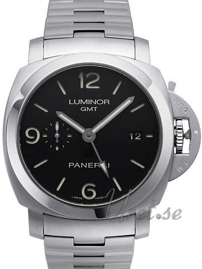 Panerai Contemporary Luminor 1950 3 Days GMT Automatic Herrklocka PAM 329 - Panerai