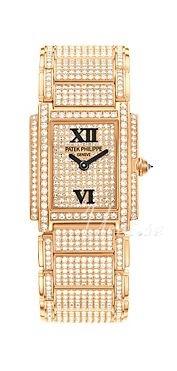 Patek Philippe Twenty~4 Damklocka 4908/50R/012 Diamantinfattad/18 karat - Patek Philippe