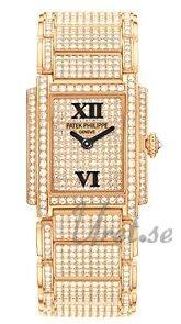 Patek Philippe Twenty~4 Damklocka 4909/50R/001 Diamantinfattad/18 karat - Patek Philippe