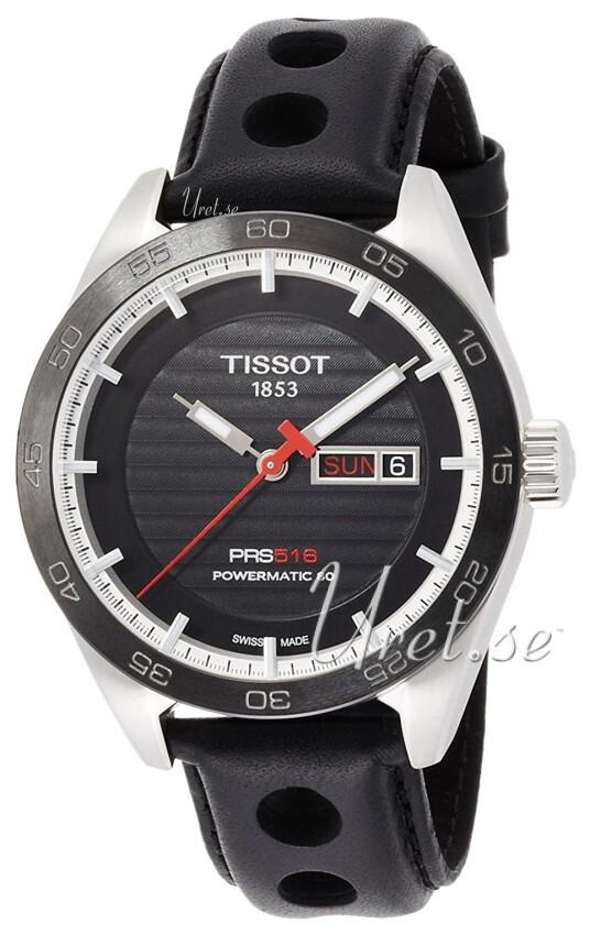 Tissot T-Sport Herrklocka T100.430.16.051.00 Svart/Läder Ø42 mm - Tissot