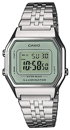 Casio Casio Collection LCD/Stål 33.5x28.6 mm LA680WEA-7EF