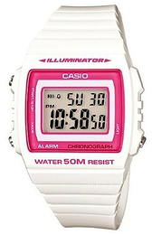 Casio Casio Collection LCD/Resinplast 43.8x40.7 mm W-215H-7A2VEF