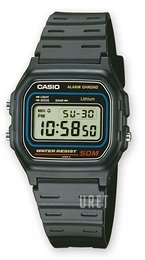 Casio Casio Collection Resinplast 37.1x33.6 mm W-59-1VQES