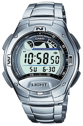 Casio Casio Collection Stål Ø42.4 mm W-753D-1AVES