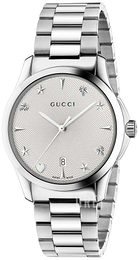 Gucci G-Timeless Vit/Stål Ø38 mm YA1264028