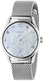 Gucci G-Timeless Vit/Stål Ø36 mm YA1264040