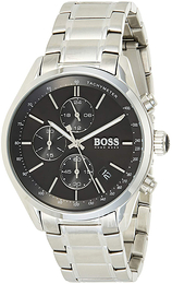 Hugo Boss Chronograph Svart/Stål Ø46 mm 1513477