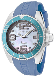 Invicta Angel Diamond Blå/Gummi Ø42 mm 0496