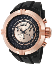 Invicta Force Roséguldstonad/Gummi Ø48 mm 0849