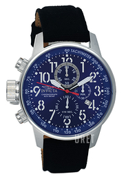 Invicta Force Lefty Blå/Textil Ø46 mm 1513