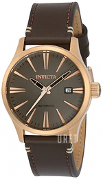 Invicta Force Grå/Läder Ø42 mm 22946