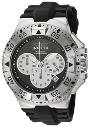 Invicta Excursion Svart/Gummi Ø50 mm 23039