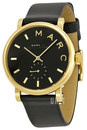 Marc by Marc Jacobs Baker Svart/Läder Ø37 mm MBM1269