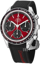 Omega Speedmaster Racing Co-Axial Chronograph 40mm Röd/Stål Ø40 mm 326.32.40.50.11.001