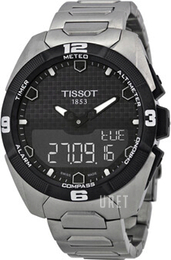Tissot Touch Collection Svart/Titan Ø45 mm T091.420.44.051.00
