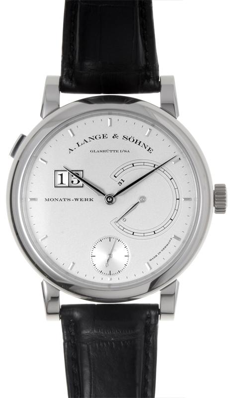 A. Lange & Söhne Lange 31 Herrklocka 130.025 Silverfärgad/Läder - A. Lange & Söhne