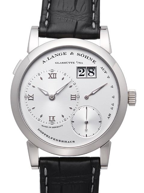 A. Lange & Söhne Lange 1 Herrklocka 101.039 Silverfärgad/Läder - A. Lange & Söhne