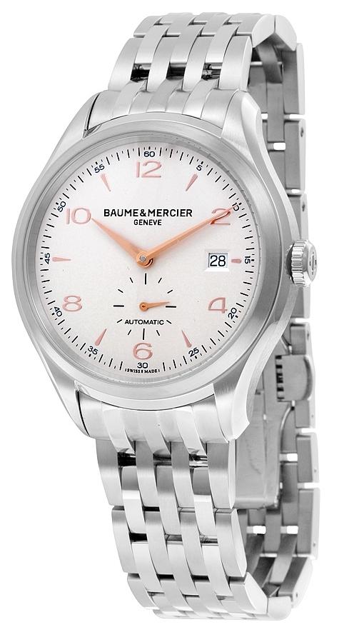 Baume & Mercier Clifton Herrklocka M0A10141 Silverfärgad/Stål Ø41 mm - Baume & Mercier