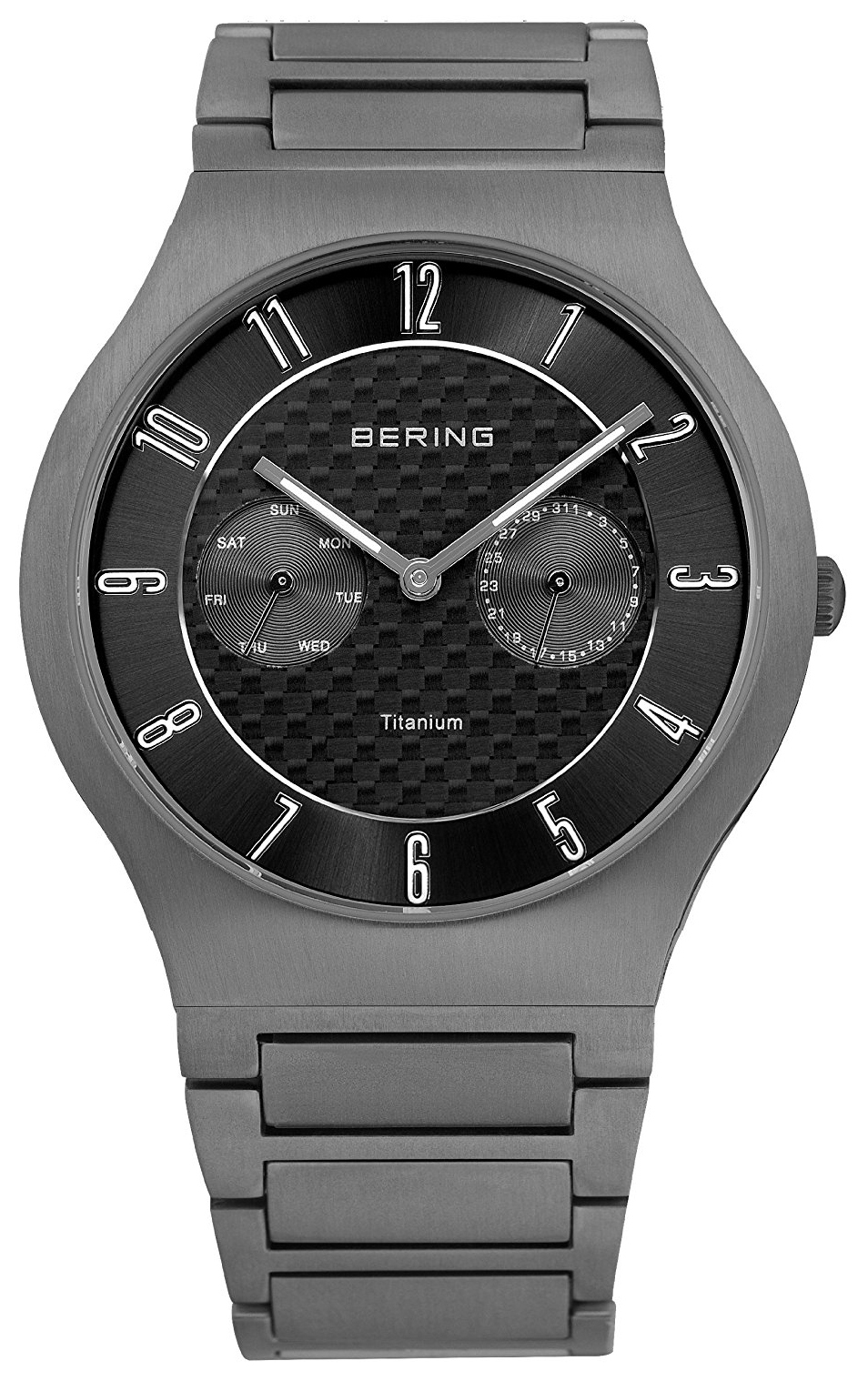 Bering Titanium Herrklocka 11939-777 Grå/Titan Ø39 mm - Bering
