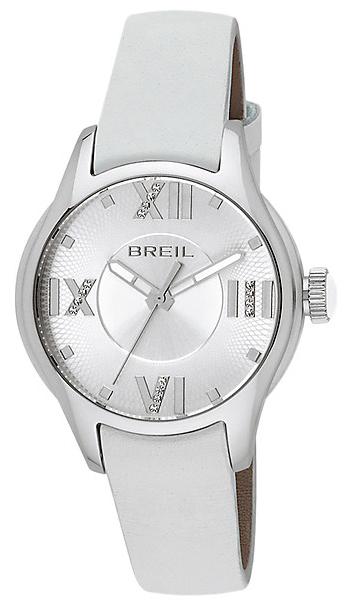 Breil Globe Damklocka TW0779 Silverfärgad/Läder Ø36 mm - Breil