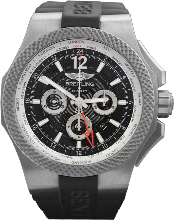 Breitling for Bentley GMT Light Body Herrklocka - Breitling for Bentley