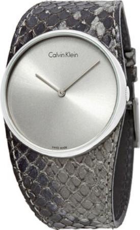 Calvin Klein Spellbound Damklocka K5V231Q4 Silverfärgad/Läder Ø39 mm - Calvin Klein