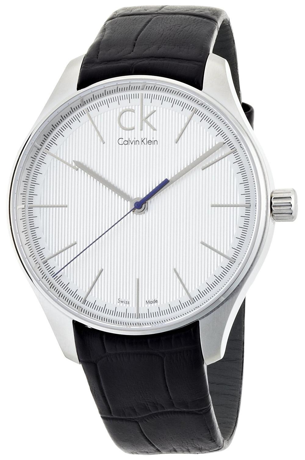 Calvin Klein Gravitation Herrklocka K9811120 Silverfärgad/Läder Ø42 mm - Calvin Klein
