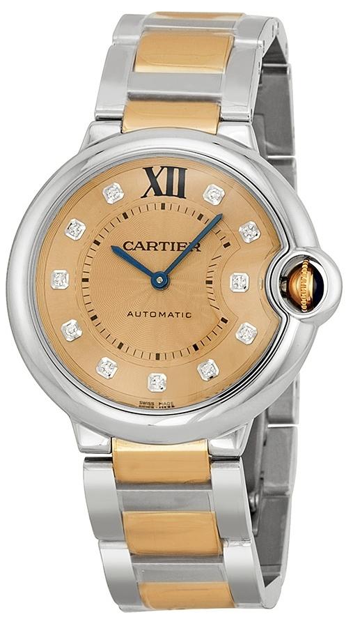 Cartier Ballon Blue Damklocka WE902054 Roséguldstonad/18 karat roséguld - Cartier