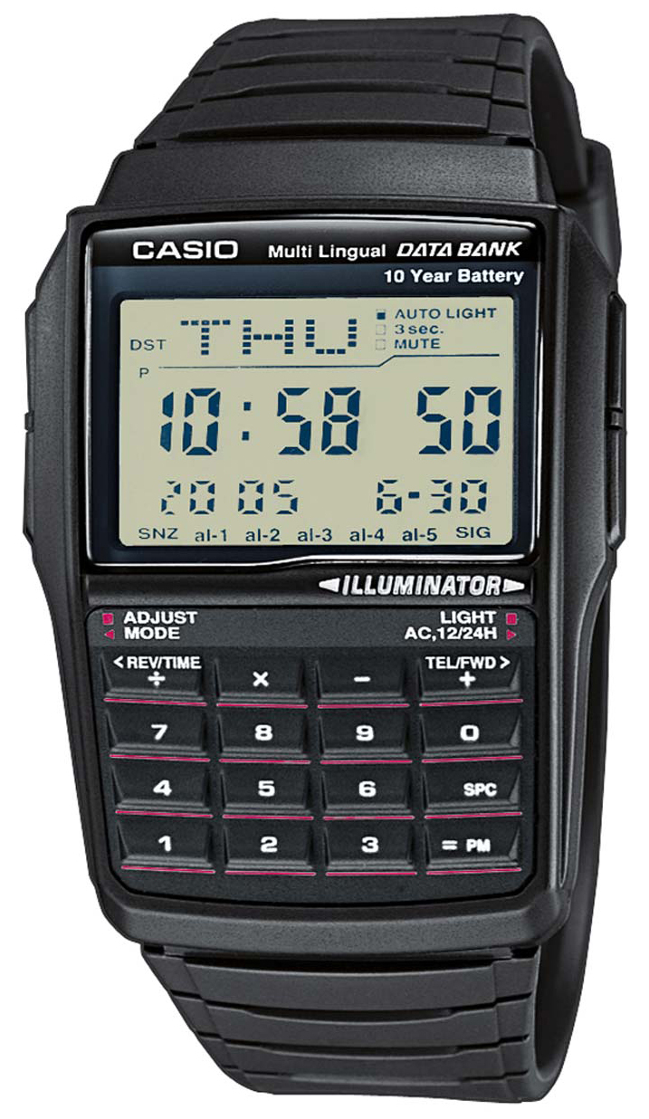 Casio Casio Collection Herrklocka DBC-32-1AES Resinplast 50.4x37.4 mm - Casio