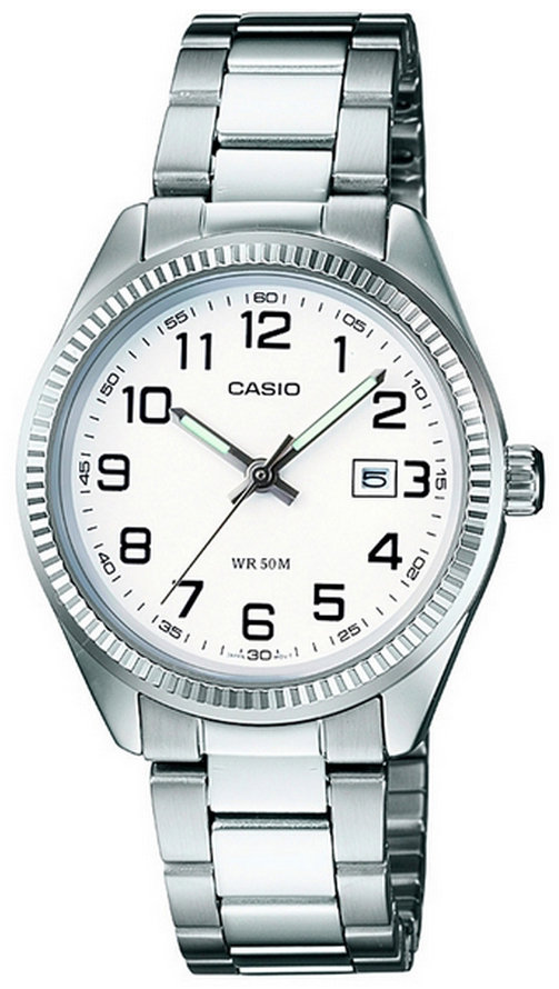 Casio Collection Damklocka LTP-1302PD-7BVEF Vit/Stål Ø30.2 mm - Casio