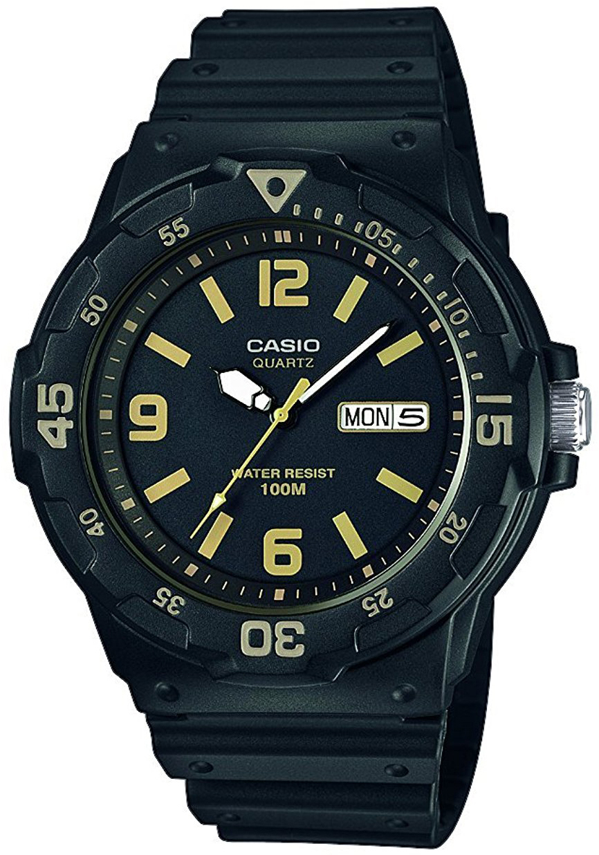 Casio Casio Collection Herrklocka MRW-200H-1B3VEF Svart/Resinplast Ø47.9 - Casio