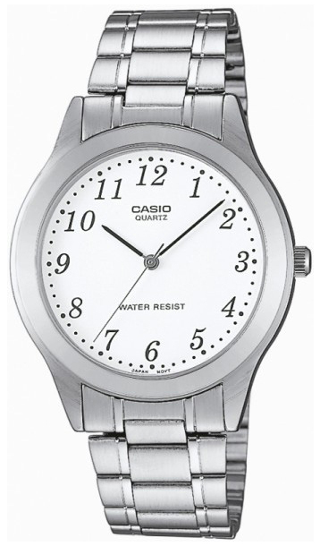 Casio Collection Damklocka MTP-1128PA-7BEF Vit/Stål Ø43 mm - Casio