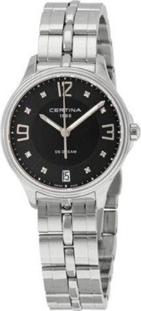 Certina DS Dream Damklocka C021.210.11.056.00 Svart/Stål Ø30.5 mm - Certina
