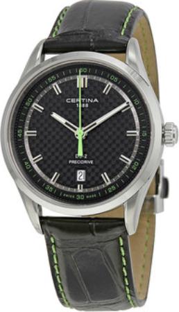 Certina DS 2 Herrklocka C024.410.16.051.02 Svart/Läder Ø40 mm - Certina