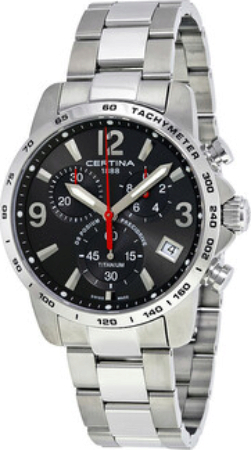 Certina DS Podium Herrklocka C034.417.44.087.00 Grå/Titan Ø41 mm - Certina