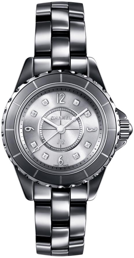 Chanel J12 Damklocka H3401 Silverfärgad/Keramik Ø29 mm - Chanel