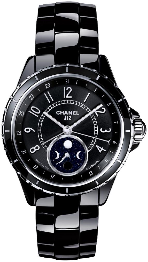 Chanel J12 Damklocka H3406 Svart/Keramik Ø38 mm - Chanel