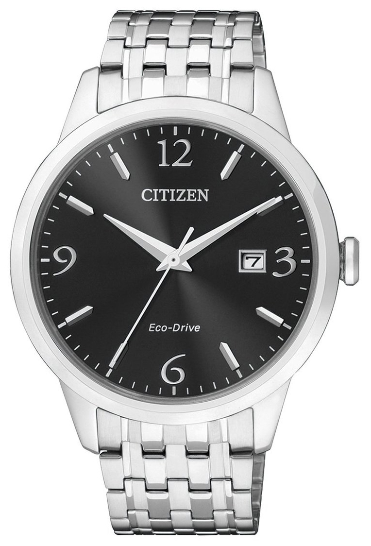 Citizen Eco Drive 180 Herrklocka BM7300-50E Svart/Stål Ø40 mm - Citizen