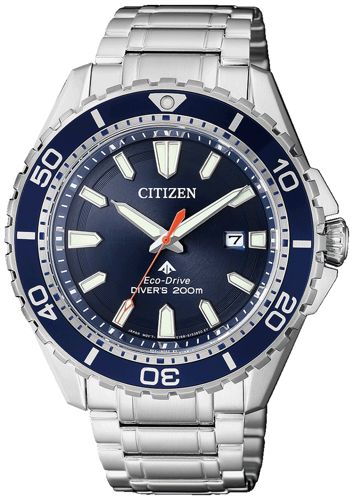 Citizen Promaster Herrklocka BN0191-80L Blå/Stål Ø44.5 mm - Citizen