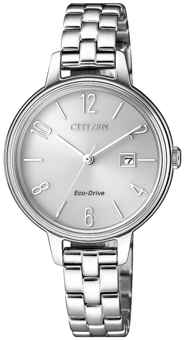 Citizen Eco Drive 180 Damklocka EW2440-88A Silverfärgad/Stål Ø31 mm - Citizen