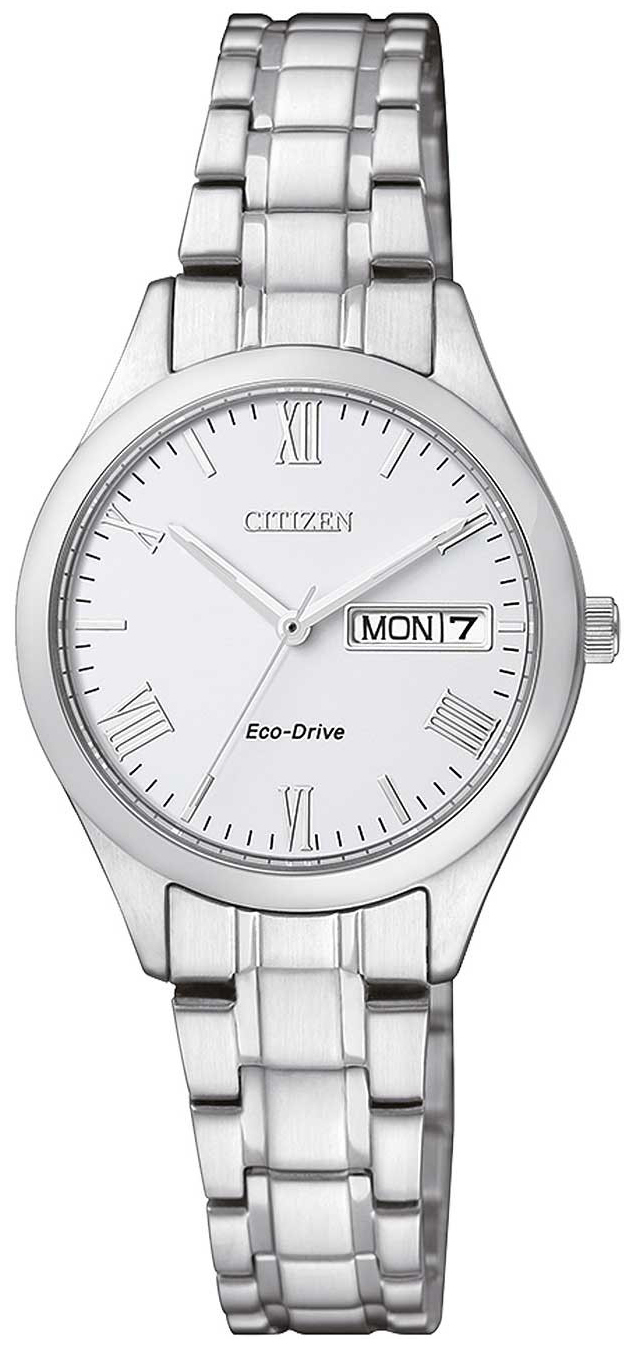 Citizen 99999 Damklocka EW3196-81AE Vit/Stål Ø26 mm - Citizen