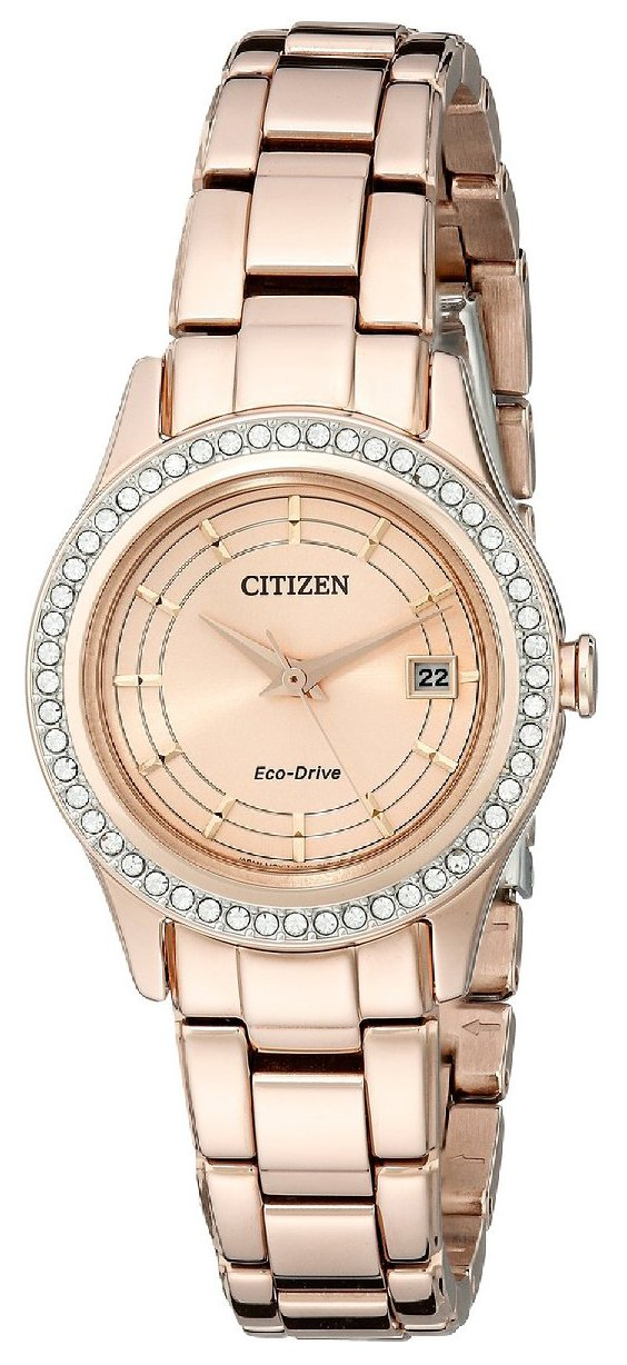 Citizen Dress Damklocka FE1123-51Q Roséguldstonad/Roséguldstonat stål - Citizen