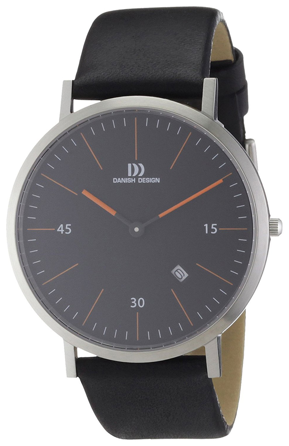 Danish Design Classic Herrklocka 3314381 Svart/Läder Ø40 mm - Danish Design