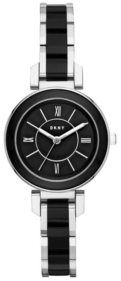 DKNY Dress Damklocka NY2590 Svart/Stål Ø30 mm - DKNY