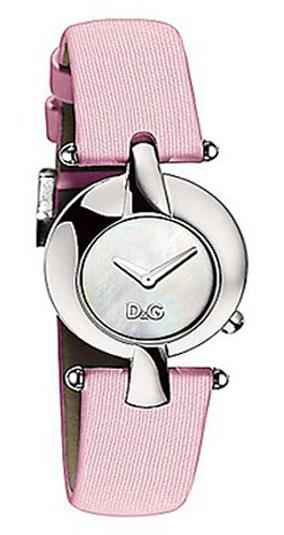 Dolce & Gabbana D&G Nonchalance Damklocka DW0457 Vit/Läder Ø29 mm - Dolce & Gabbana D&G