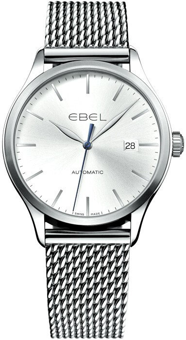 Ebel Classic Herrklocka 1216148 Silverfärgad/Stål Ø40 mm - Ebel